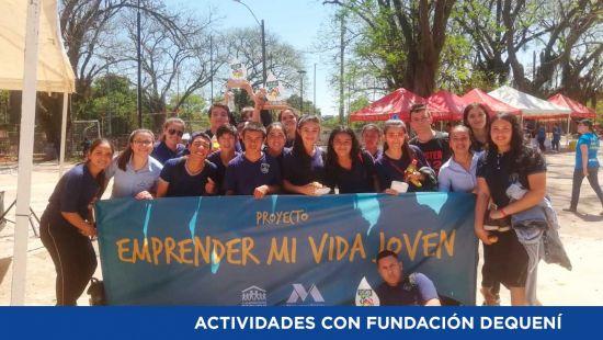 Metalúrgica Vera Apoya Actividades de la Fundación Dequení