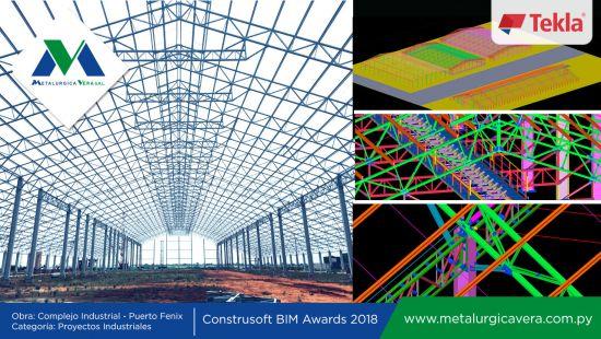 Metalúrgica Vera participa en Concurso Internacional Tekla Structures