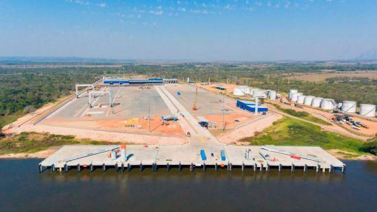 Inauguración Terminal Portuaria Terport-Villeta